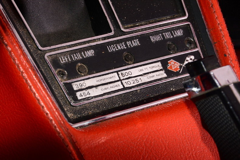 1970 Chevrolet Corvette Image 48