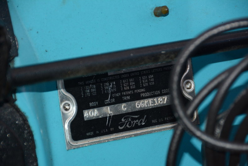 1956 Ford Thunderbird Image 12