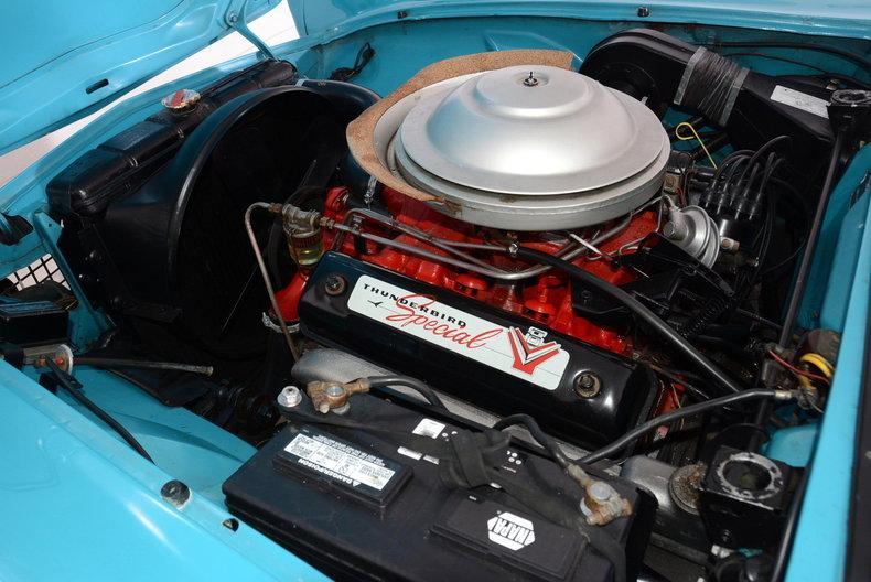1956 Ford Thunderbird Image 30
