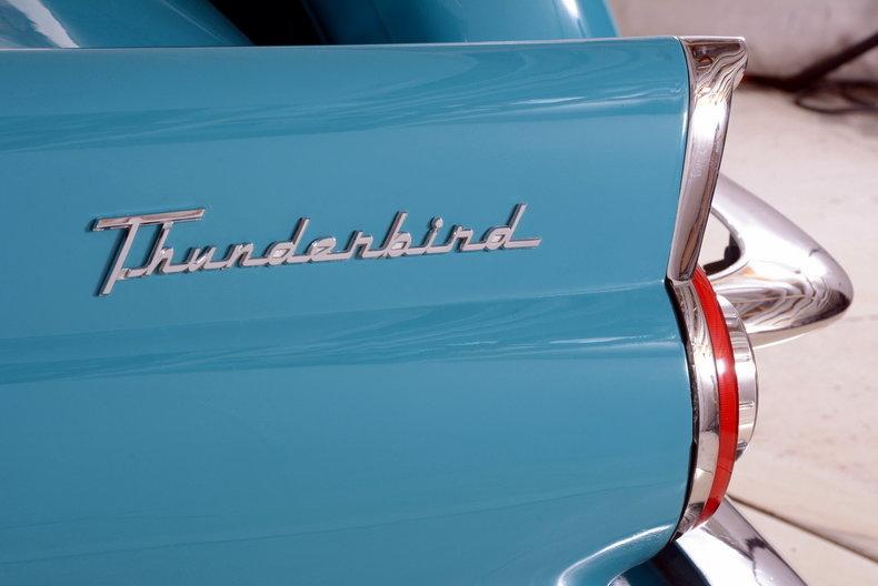 1956 Ford Thunderbird Image 36