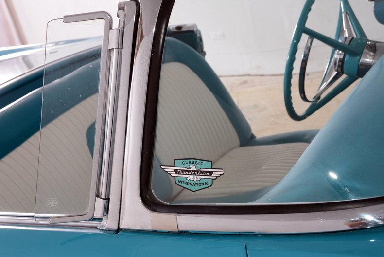 1956 Ford Thunderbird Image 55