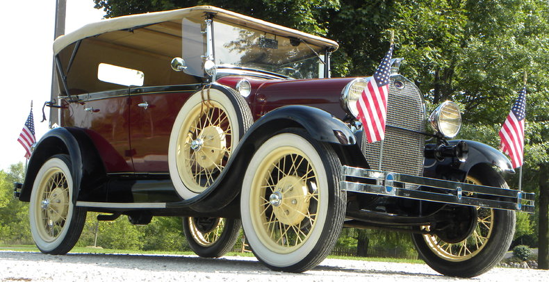 1929 Ford Model A Image 10