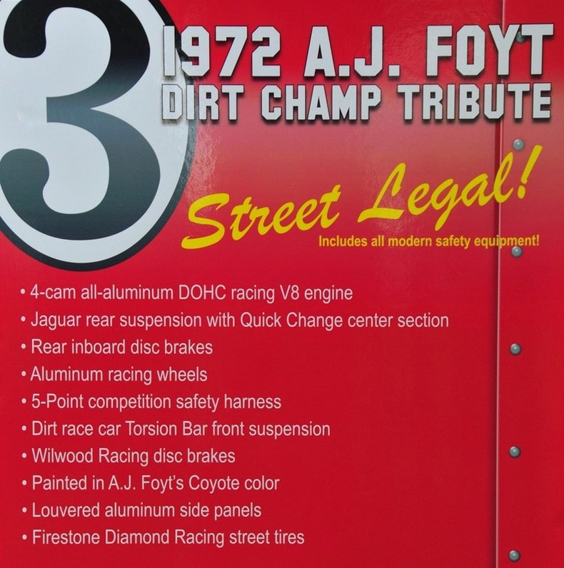 1970 Coyote Indy Car Image 41