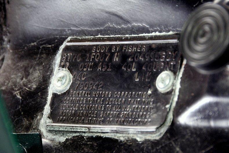 1976 Chevrolet Camaro Image 67