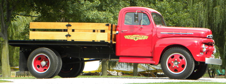 1951 Ford F-5 Image 8