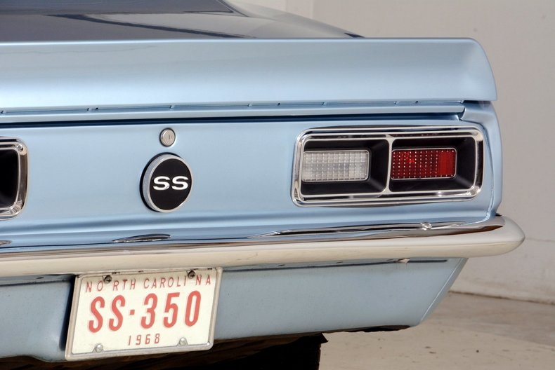 1968 Chevrolet Camaro Image 78