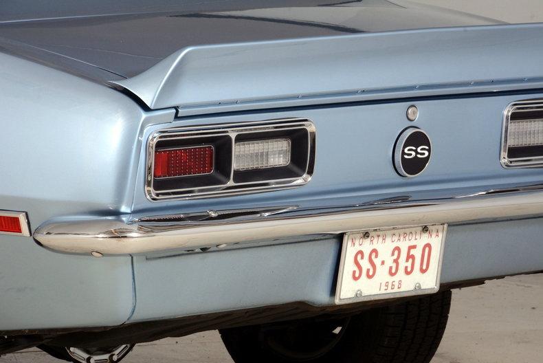 1968 Chevrolet Camaro Image 94