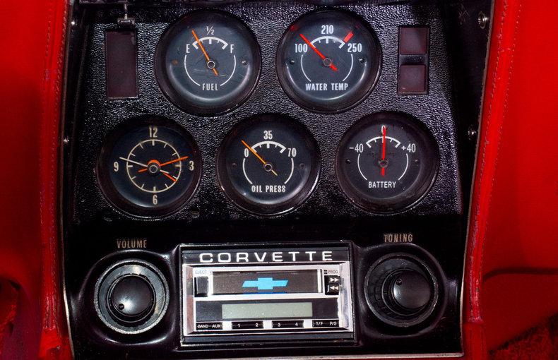 1972 Chevrolet Corvette Image 8