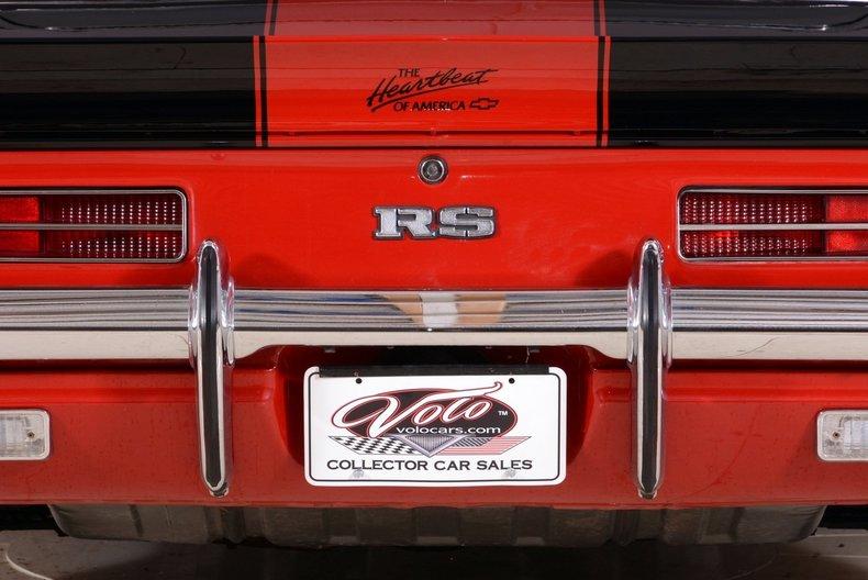 1969 Chevrolet Camaro Image 96