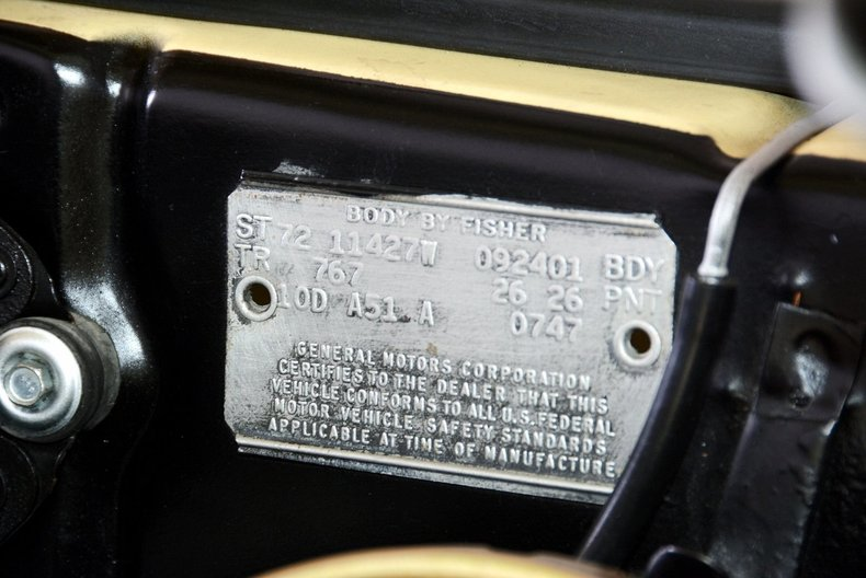 1972 Chevrolet Nova Image 37