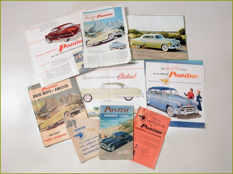 1953 Pontiac Chieftain Image 87