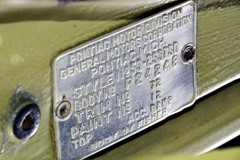 1953 Pontiac Chieftain Image 84