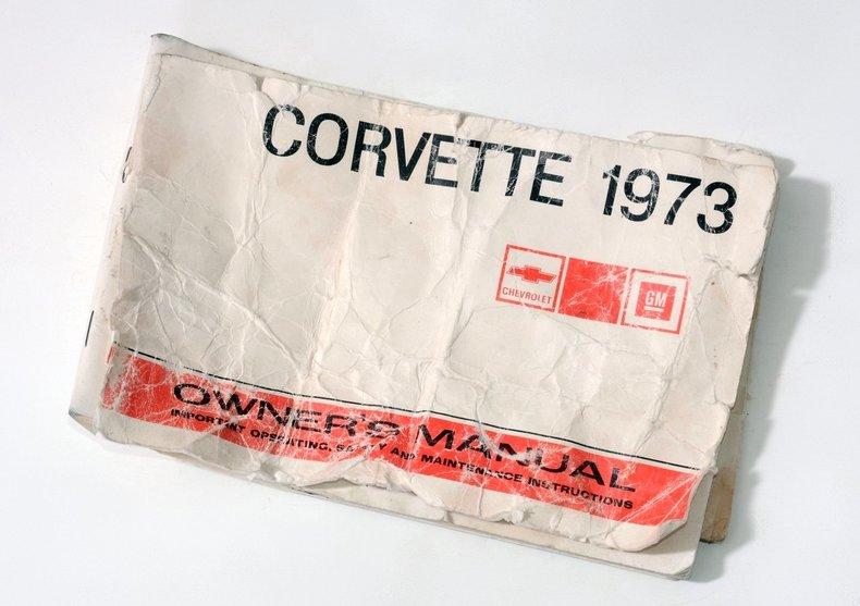 1973 Chevrolet Corvette Image 80