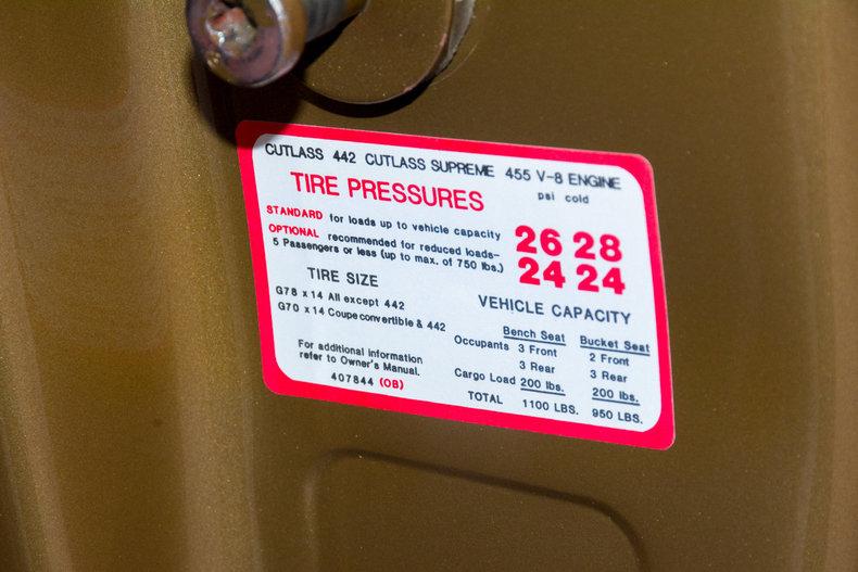 1970 Oldsmobile 442 Image 41