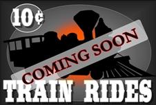 Train Rides Coming Soon