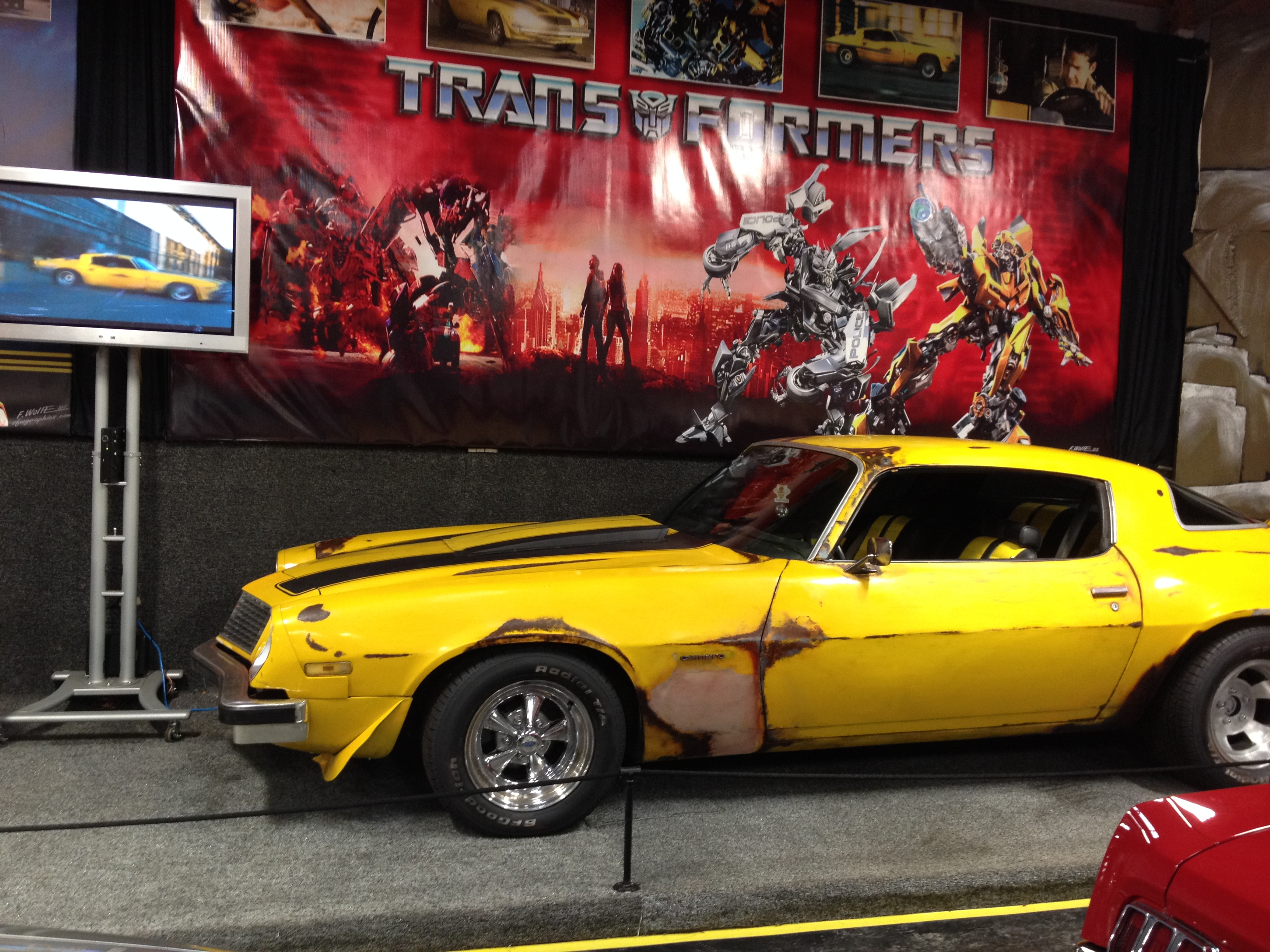 Watch Transformers Within Bumblebee