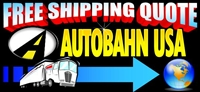 Free Shipping Quote Autobahn USA