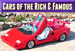 cars of the rich and famous
