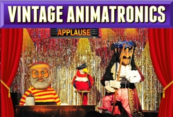 Animatronic stage show