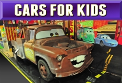 cartoon and kids cars