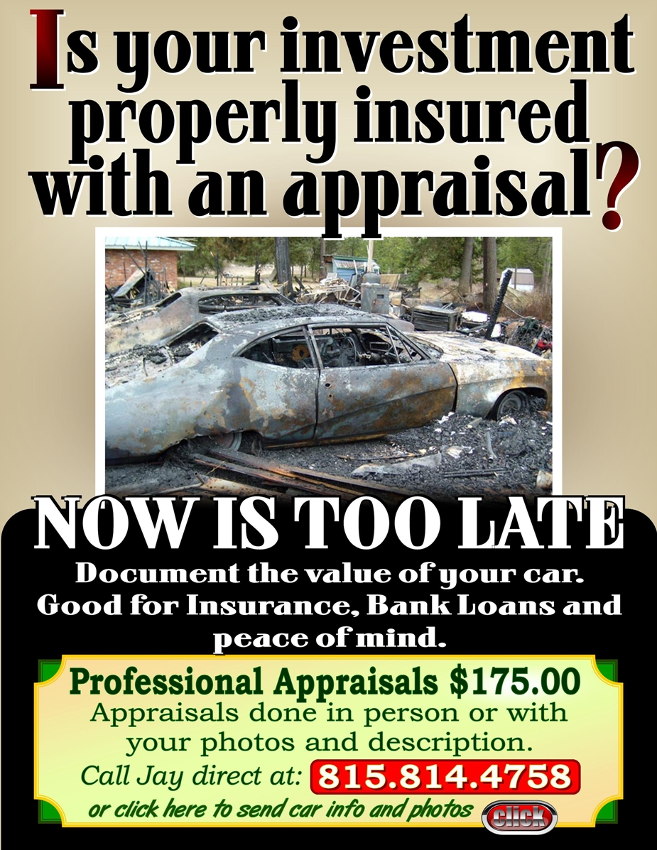 get your car appraised