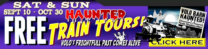 haunted train tours