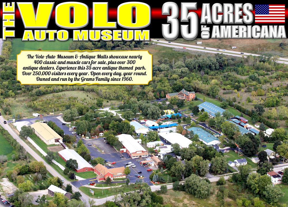 The Volo Auto Museum 35 Acres of America