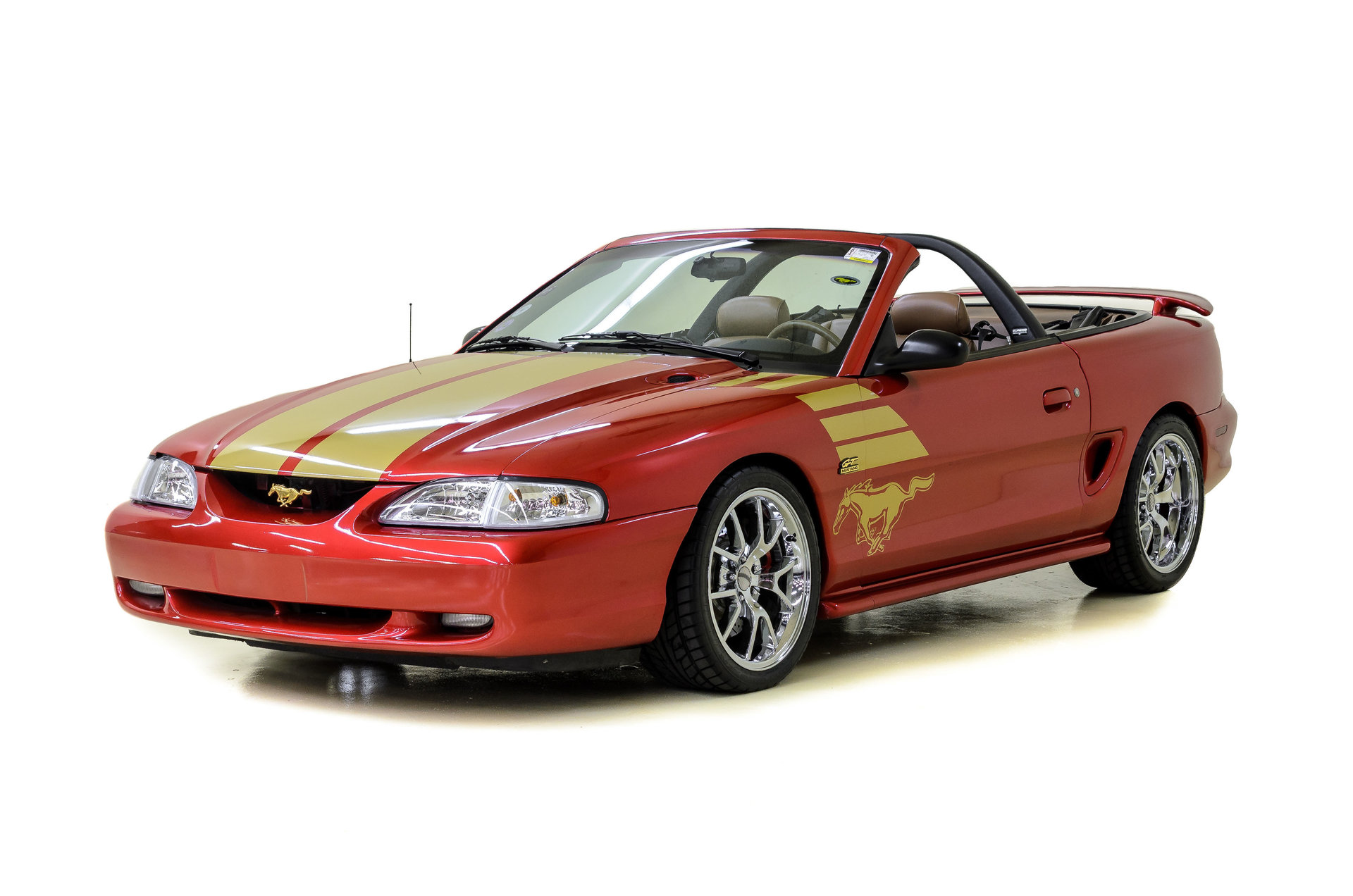 1994 ford mustang gt gold edition for sale 75222 mcg. Black Bedroom Furniture Sets. Home Design Ideas