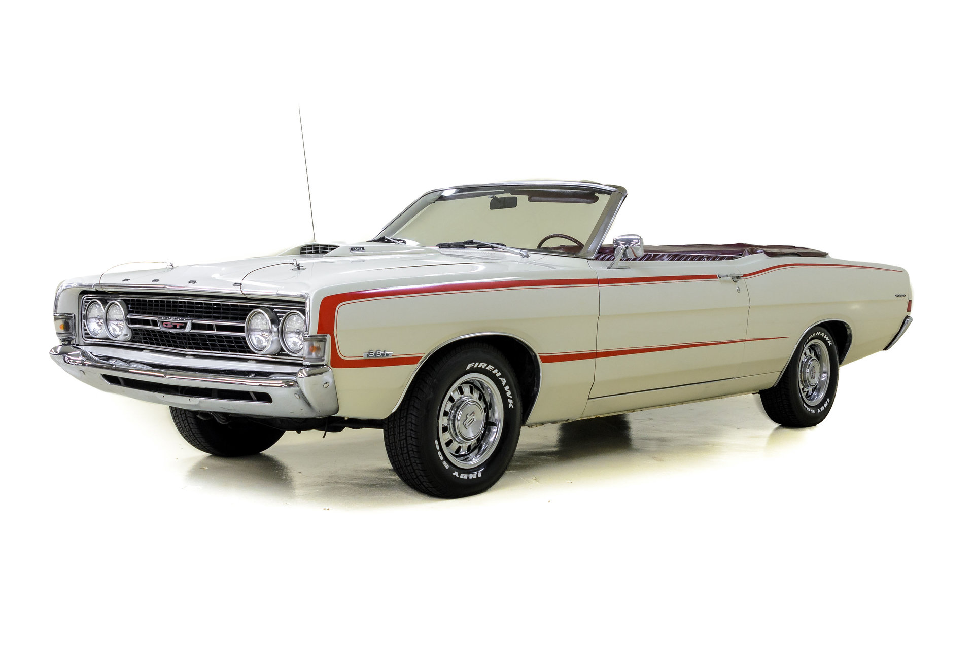 1968 ford torino convertible for sale 84255 mcg. Black Bedroom Furniture Sets. Home Design Ideas