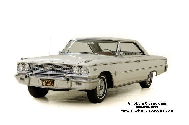 1963 Ford Galaxie XL Fastback