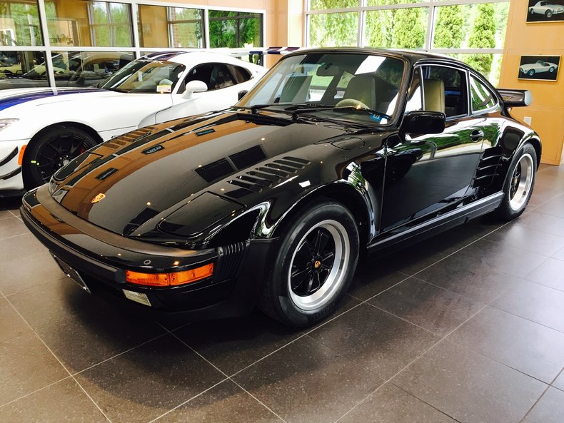 1988 Porsche 930 Turbo S Factory Slantnose