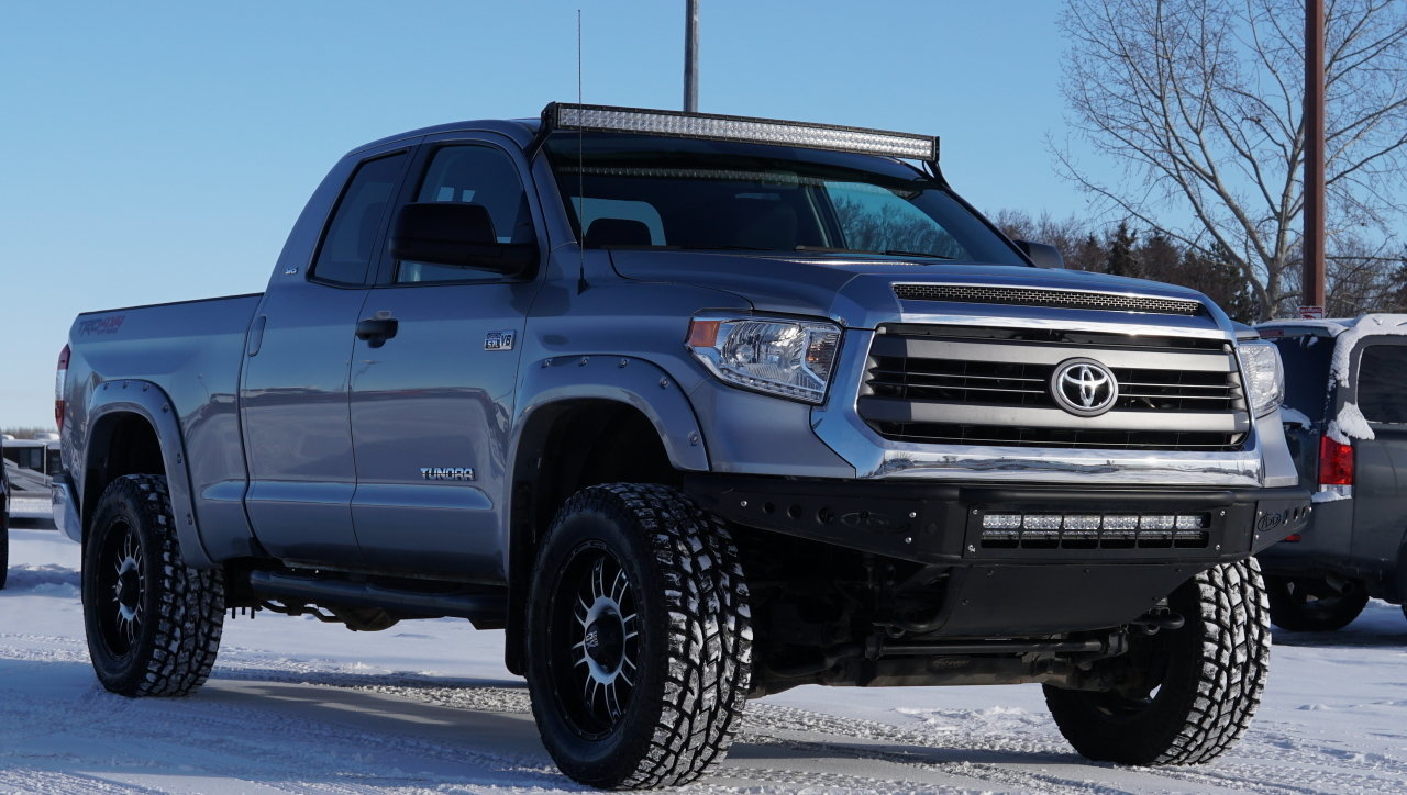 2014 toyota tundra 4wd truck double cab 5 7l lifted for. Black Bedroom Furniture Sets. Home Design Ideas