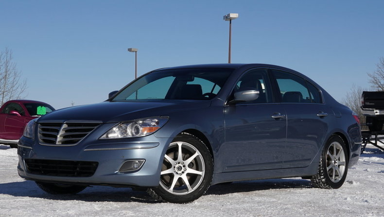 2009 hyundai genesis 3 8l v6 4dr for sale 78534 mcg. Black Bedroom Furniture Sets. Home Design Ideas