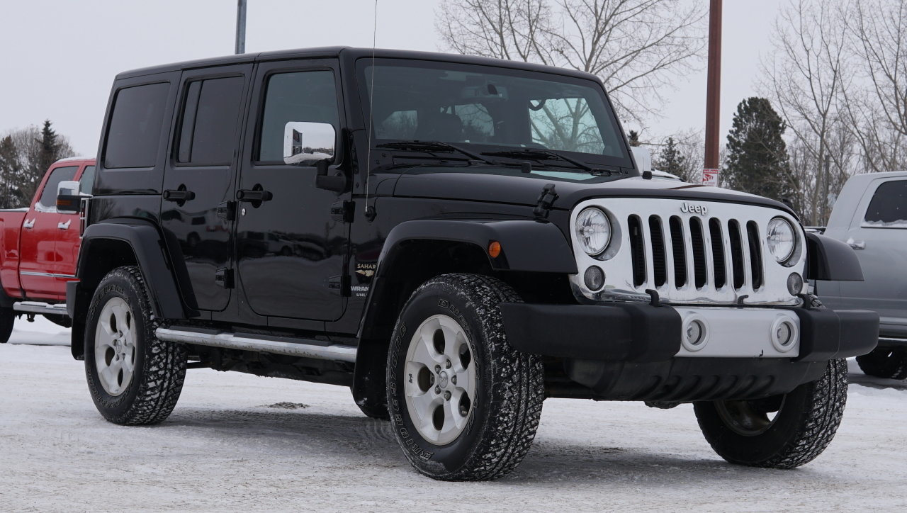 2014 jeep wrangler unlimited 4wd 4dr sahara for sale 78536 mcg. Black Bedroom Furniture Sets. Home Design Ideas