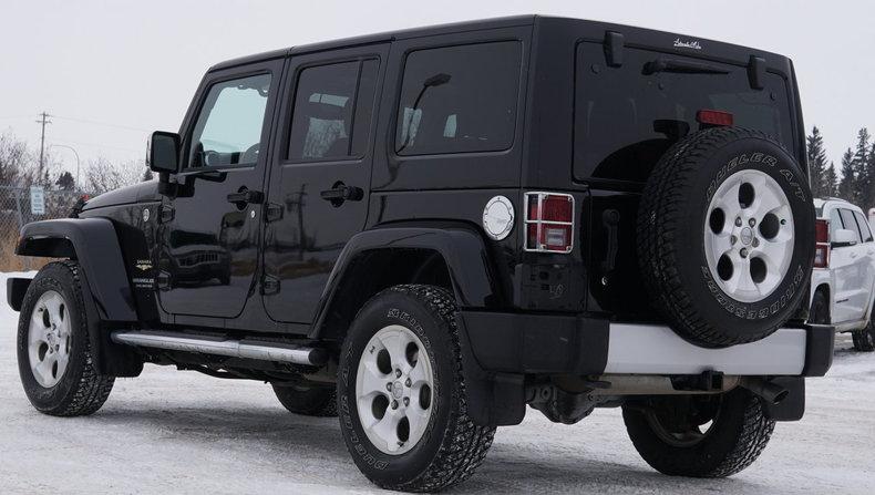 2014 jeep wrangler unlimited 4wd 4dr sahara for sale. Black Bedroom Furniture Sets. Home Design Ideas