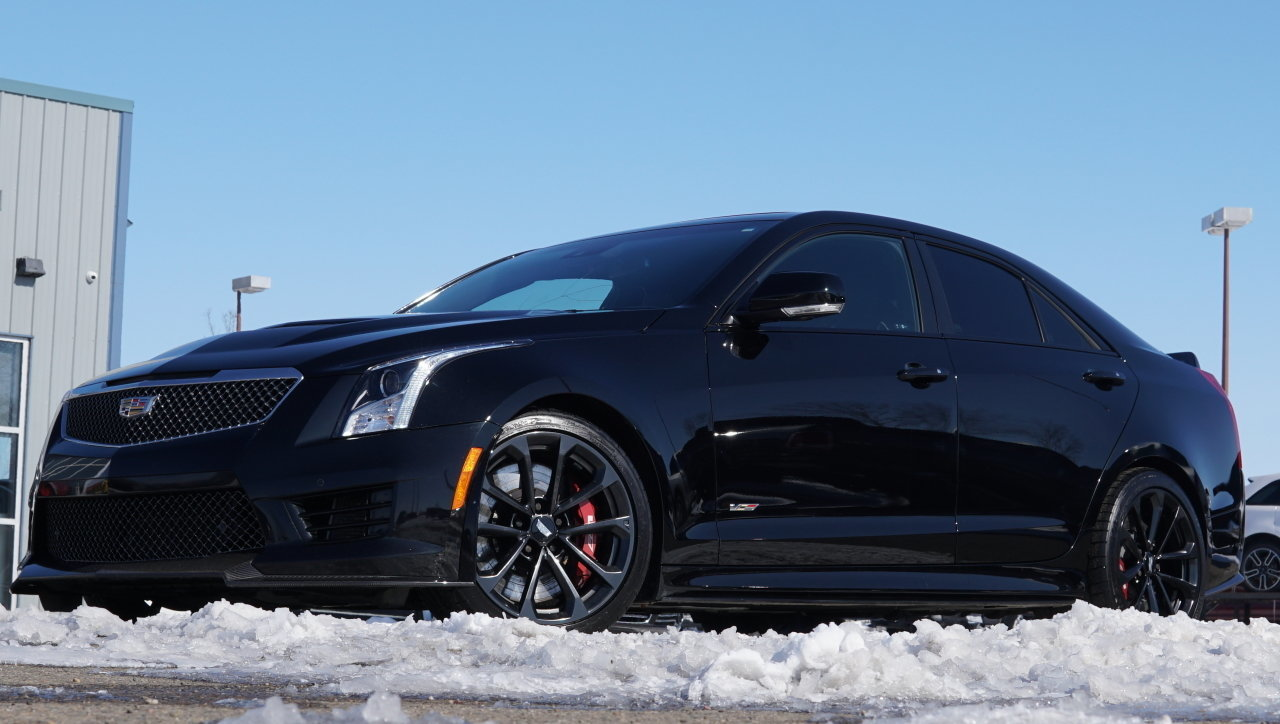 2016 cadillac ats v sedan twin turbo 464hp for sale 84387 mcg. Black Bedroom Furniture Sets. Home Design Ideas