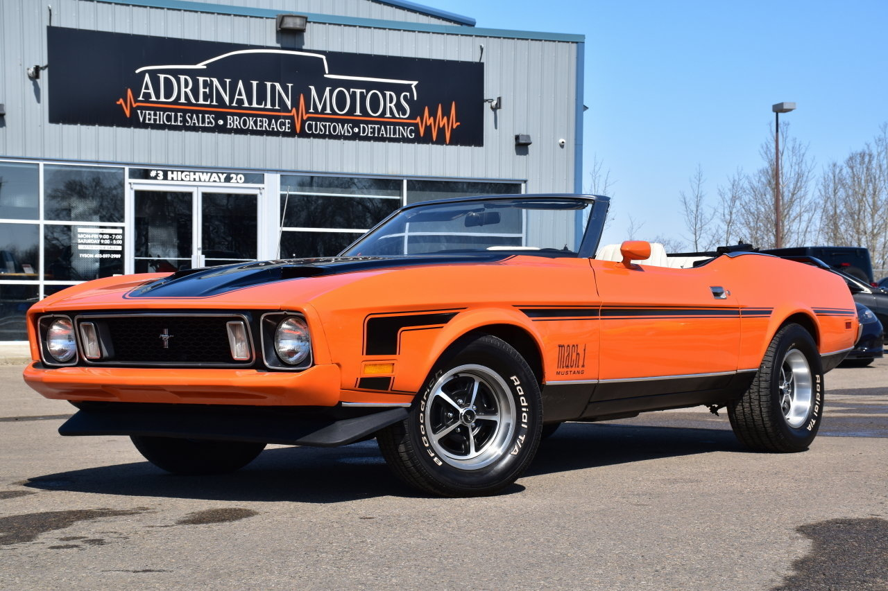 6791caa938a8 hd 1973 ford mustang mach 1 tribute convertible