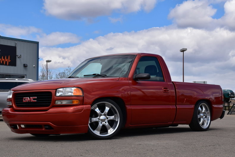 2001 Gmc Sierra 1500 Lowered Custom Sle For Sale 87203 Mcg