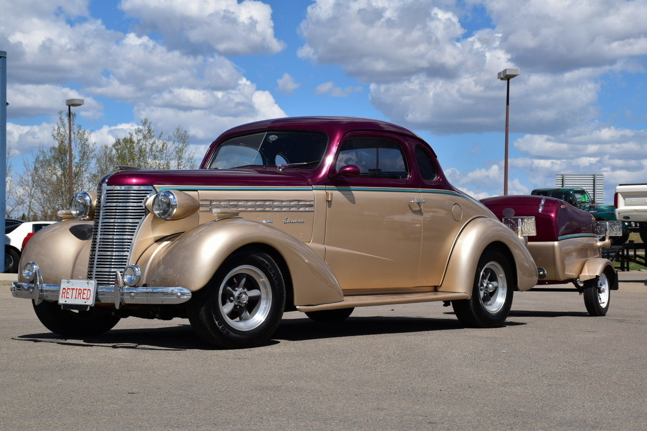 73371de10342 hd 1938 chevrolet master deluxe w custom trailer