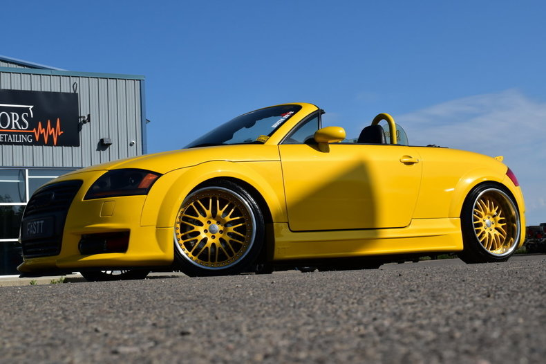 2002 audi tt roadster custom convertible quattro for sale 89364 mcg. Black Bedroom Furniture Sets. Home Design Ideas