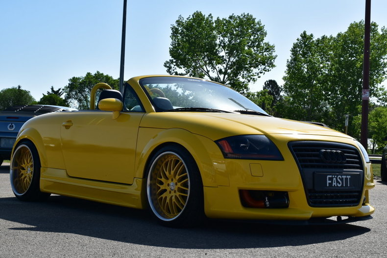 2002 audi tt roadster custom convertible quattro for sale 89364 mcg. Black Bedroom Furniture Sets. Home Design Ideas