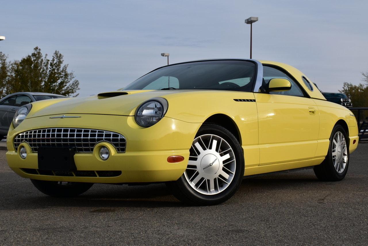 10750844c67f2 hd 2002 ford thunderbird convertible w hard top 2dr