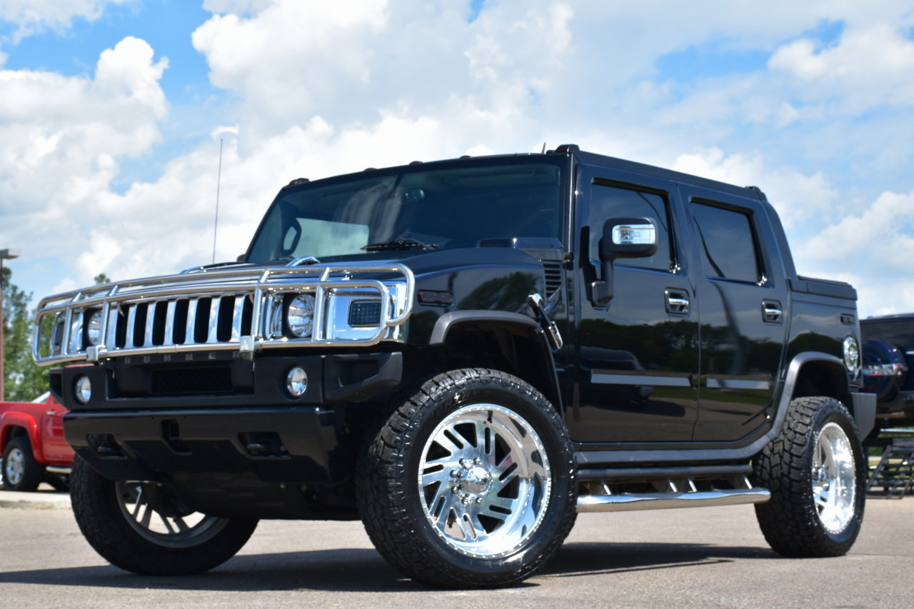 873319d991ae hd 2008 hummer h2 sut 4wd loaded