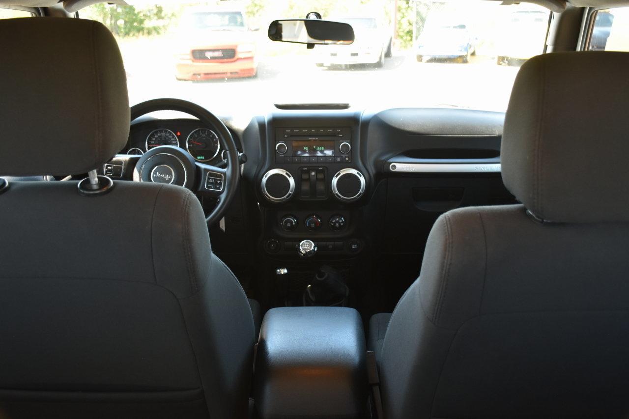2011 Jeep Wrangler Adrenalin Motors Radio Cover