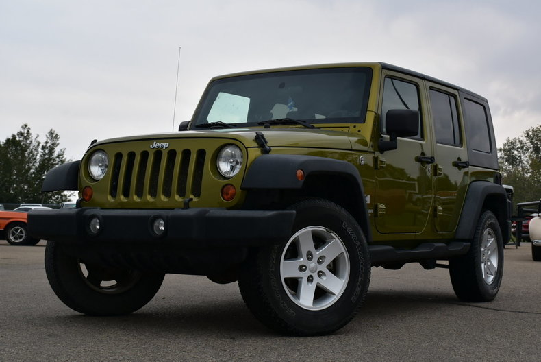 2007 Jeep Wrangler Sold