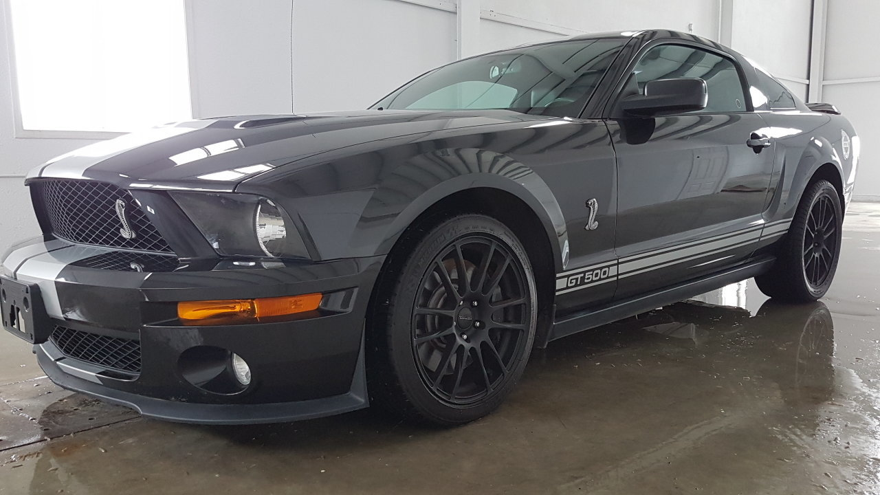 2008 ford mustang shelby gt500 for sale 83749 mcg. Black Bedroom Furniture Sets. Home Design Ideas