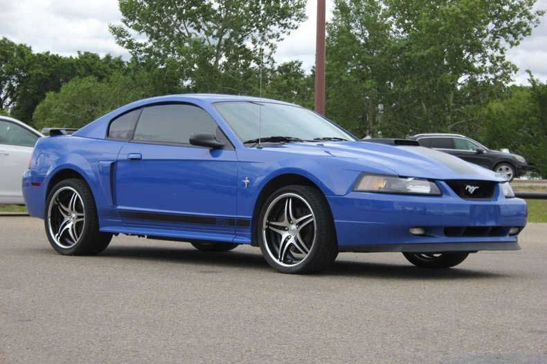 2003 ford mustang mach 1 for sale 67088 mcg. Black Bedroom Furniture Sets. Home Design Ideas