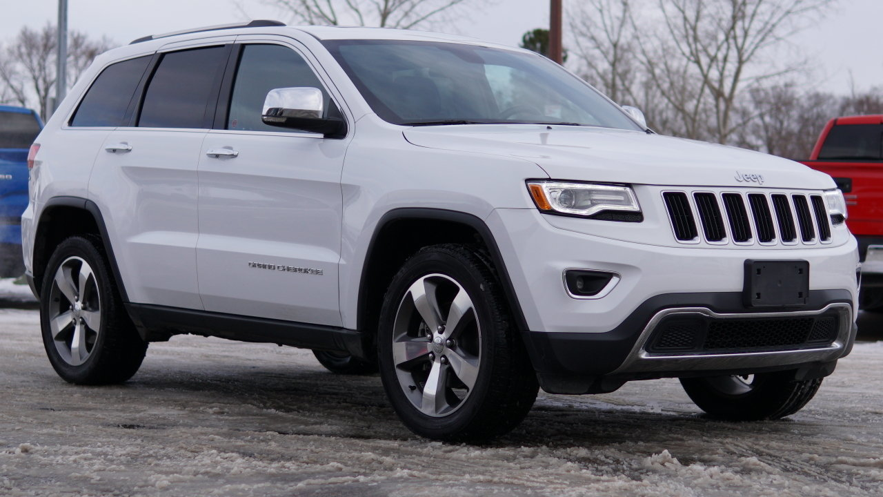 2016 jeep grand cherokee limited for sale 67102 mcg. Black Bedroom Furniture Sets. Home Design Ideas