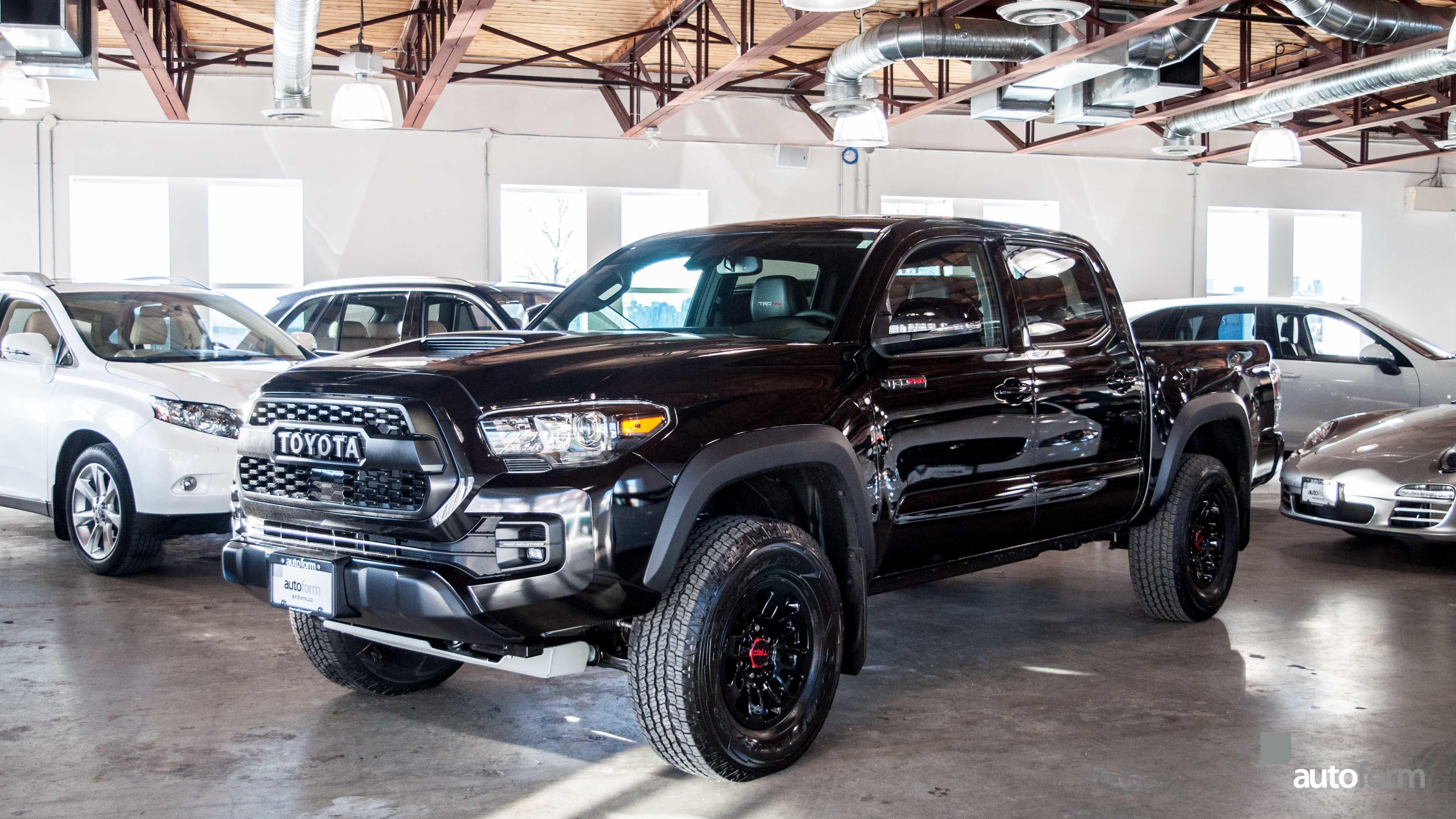 2018 Toyota Tacoma Trd Pro Autoform