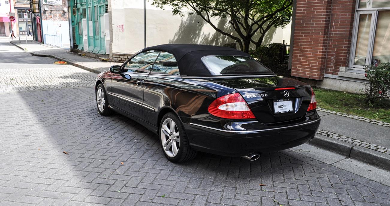 2007 mercedes benz clk350 autoform for Mercedes benz vancouver
